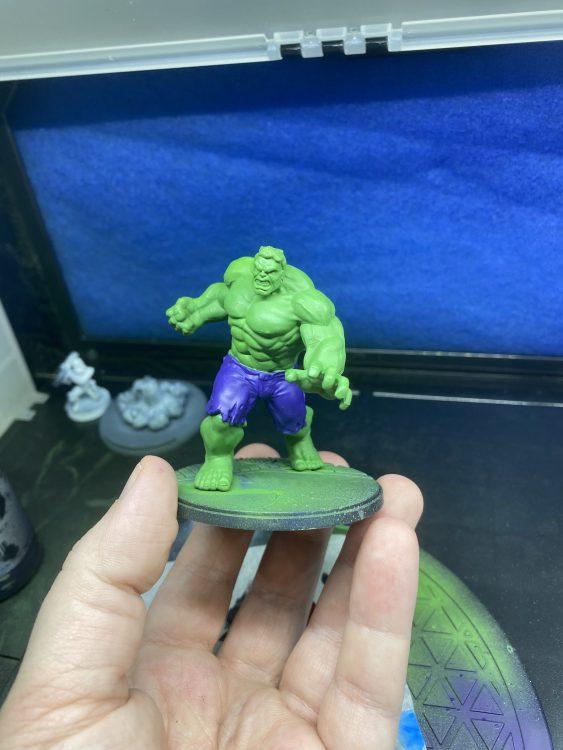 Ryolnir's Hulk Basecoat