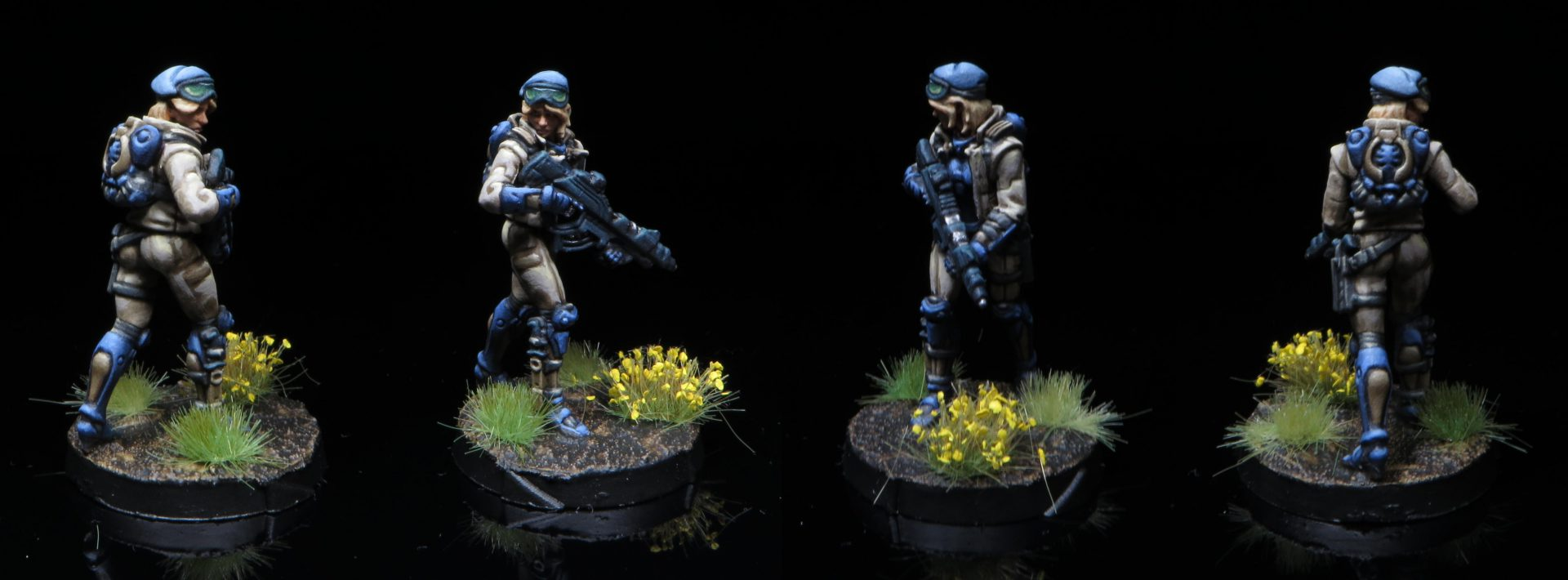 Fusilier with Combi Rifle. Credit: Rockfish