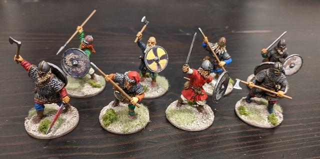 Victrix Vikings Painted