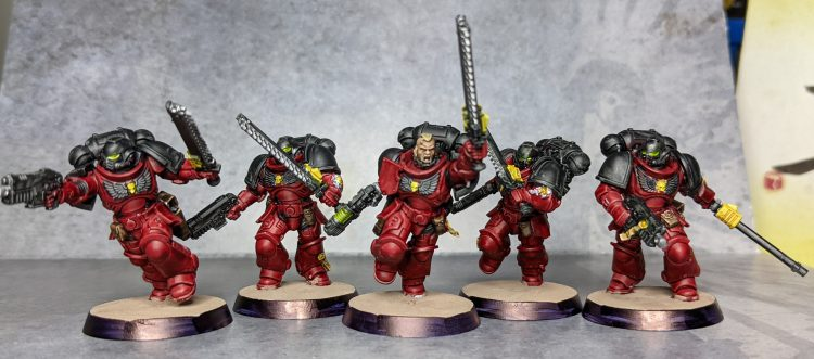 Beanith's Battle Ready Flesh Tearers