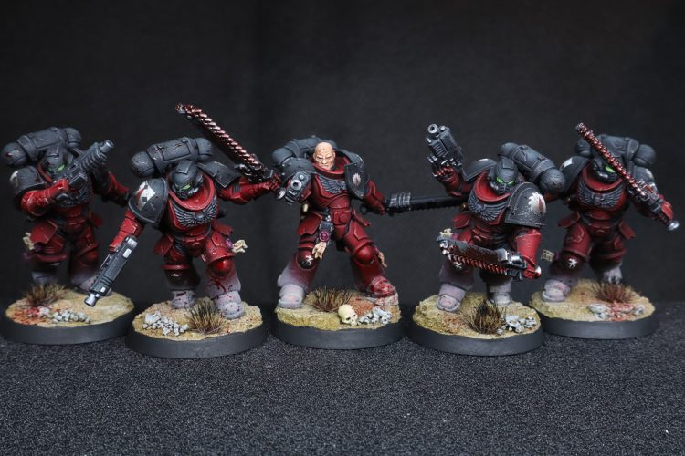 Flesh Tearers Assault Intercessor Squad
