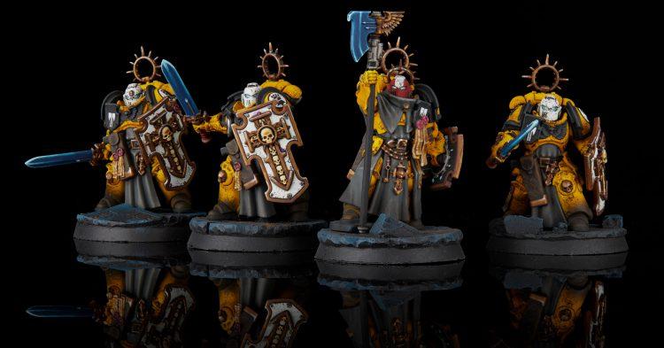Imperial Fist Bladeguard Veteran Squad