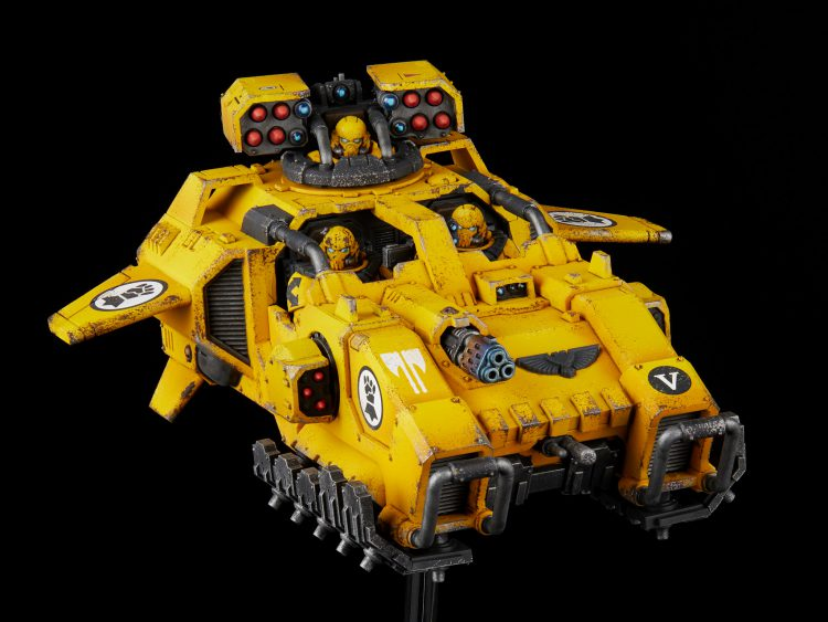 Imperial Fists Storm Speeder