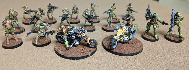 Assorted Haqqislam Forces