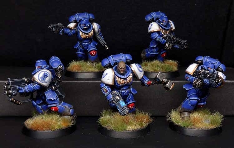 Intercessors with auto bolt rifles