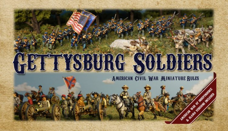 Gettysburg Soldiers ACW Rules Cover