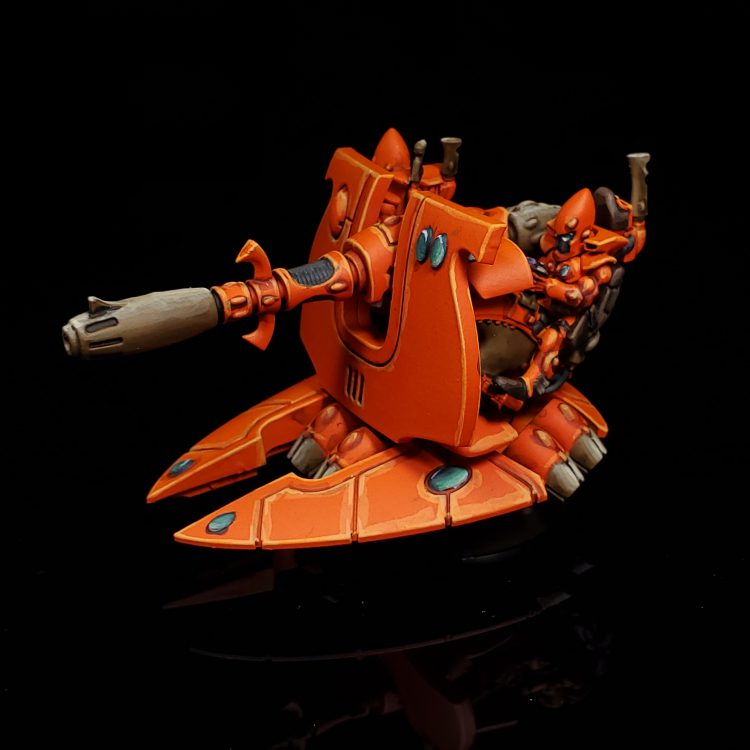 Eldar Support Weapon - D-Cannon. Credit: Rockfish