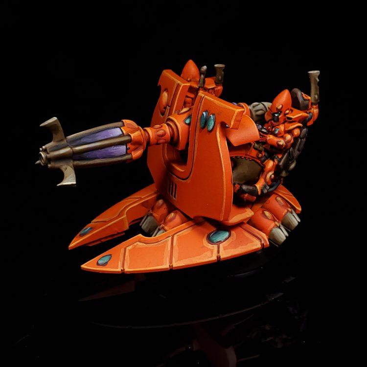 Eldar Support Weapon - Shadow Weaver. Credit: Rockfish