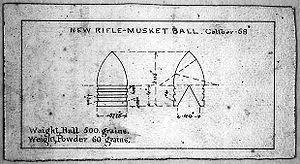 Burton's Minie Ball design