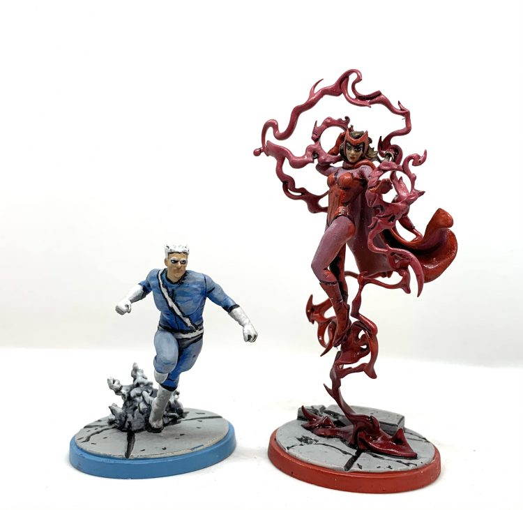 Quicksilver and Scarlet Witch Marvel Crisis Protocol