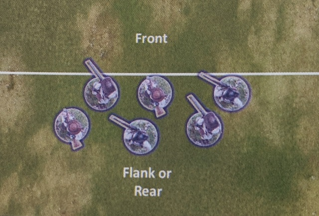 ACW SP2 arc of fire for skirmishers