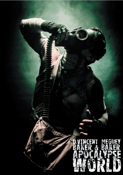 Apocalypse World 2nd Edition Cover Art