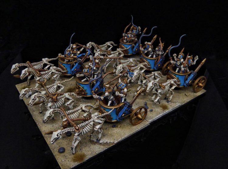 Kings of War Revenant Chariots Legion