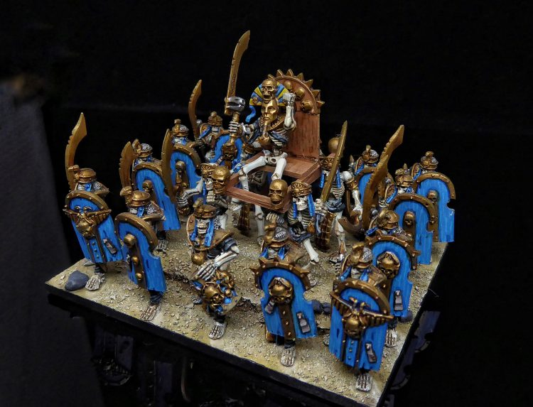 Kings of War Revenants Regiment