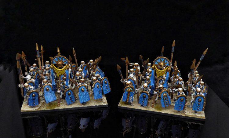 Kings of War Skeleton Warriors Regiments