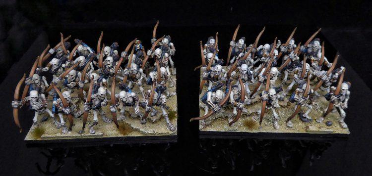 Kings of War Skeleton Archer Regiments