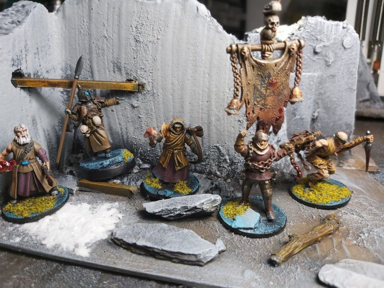 Another Forbidden Psalm Warband by Kevin Rahman