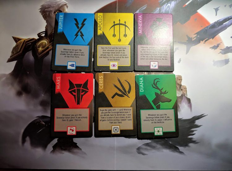 The six houses of Red Rising