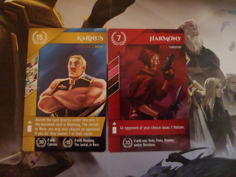 More Red Rising Cards