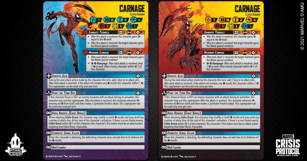 Carnage Marvel Crisis Protocol