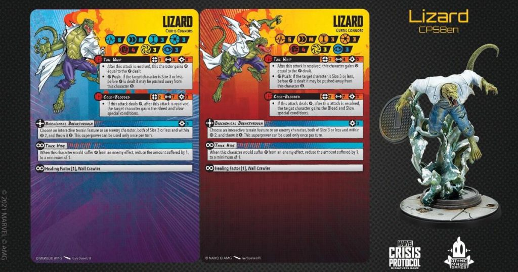 The Lizard Marvel Crisis Protocol
