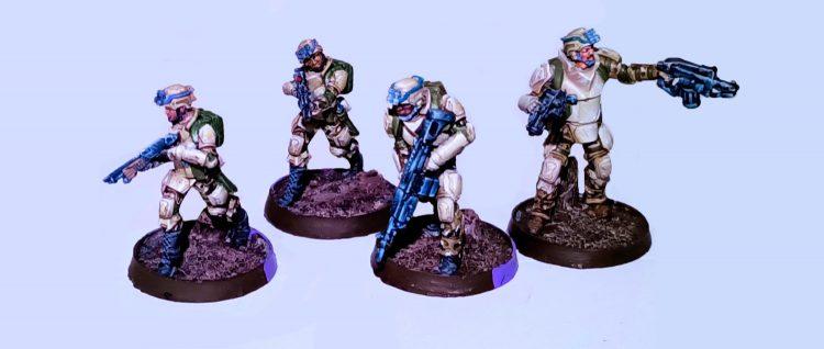 Several Minutemen