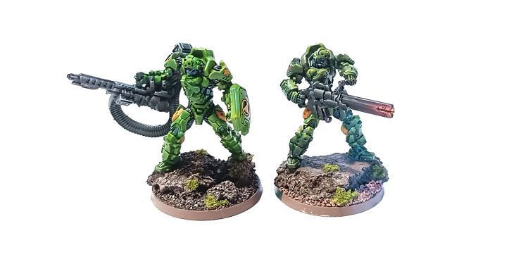 Azrail Heavy Infantry from Infinity
