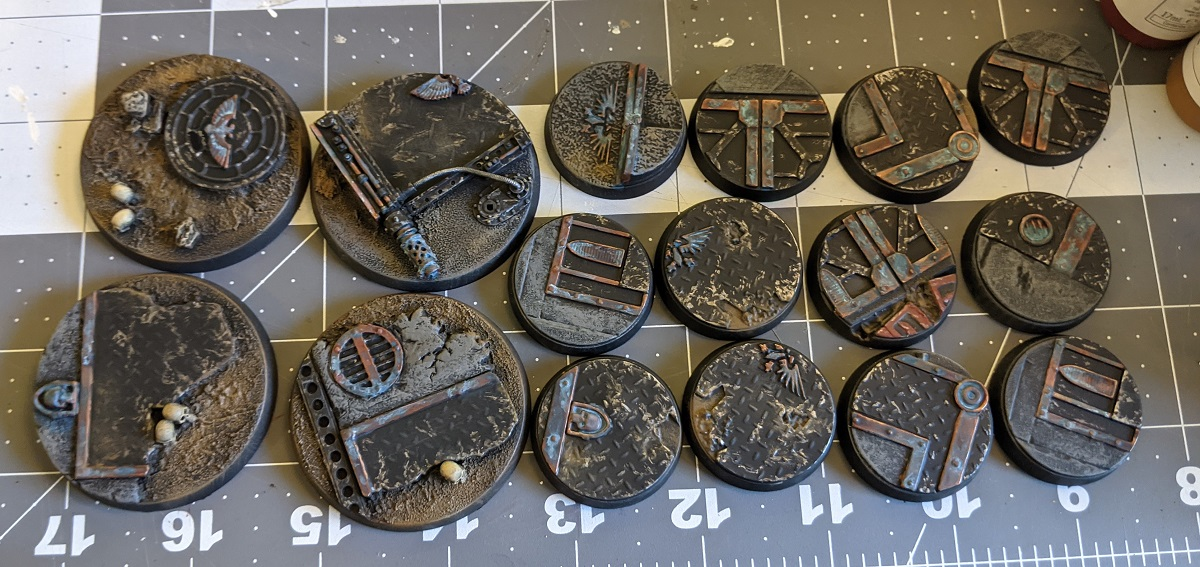 50mm Sector Imperialis Bases