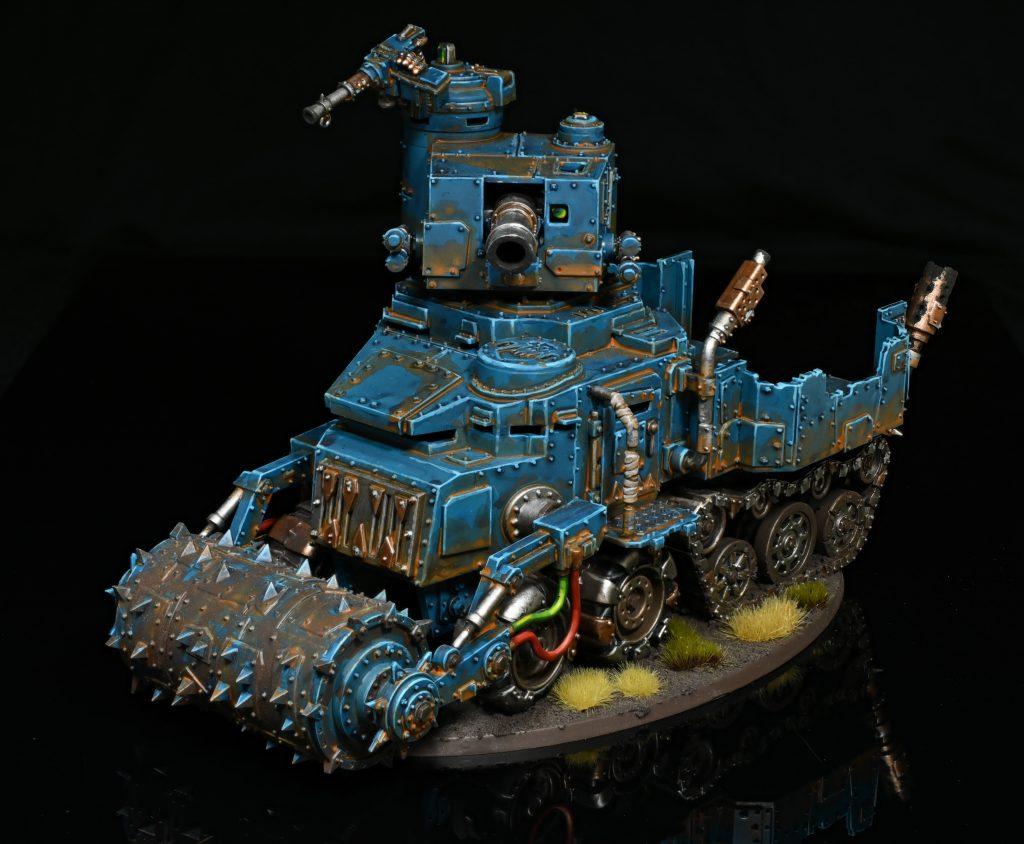 Battlewagon - Deathrolla and Kannon. Credit: Rockfish