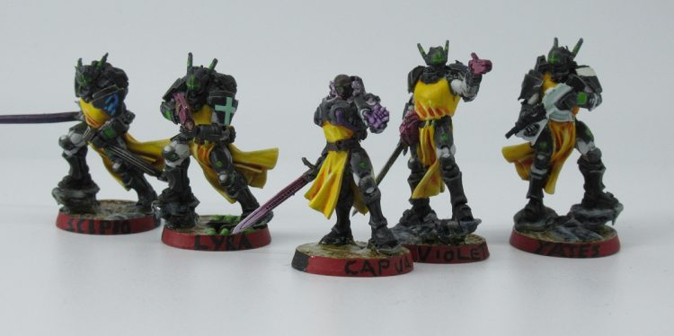 A series of PanO Knights