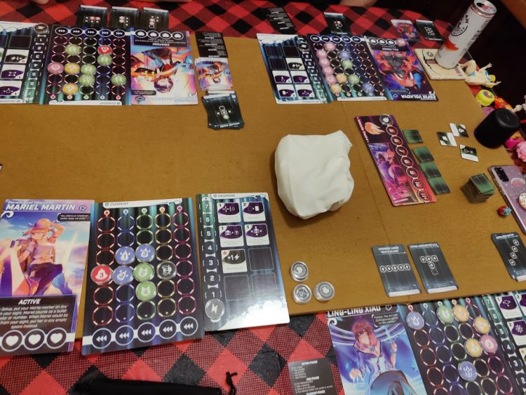 A 4 player game of Bullet♥︎