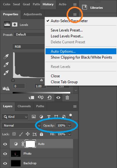 Photogrammetry - Auto level