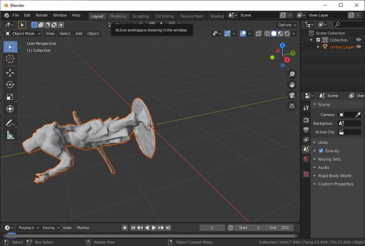 Photogrammetry - Model import