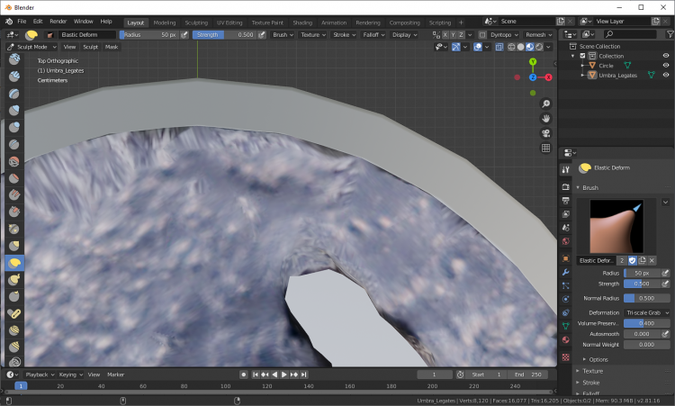 Photogrammetry - Base smoothed