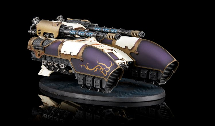 Adeptus Custodes Caladius Grav-Tank