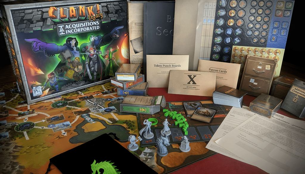 Clank Legacy Box Contents