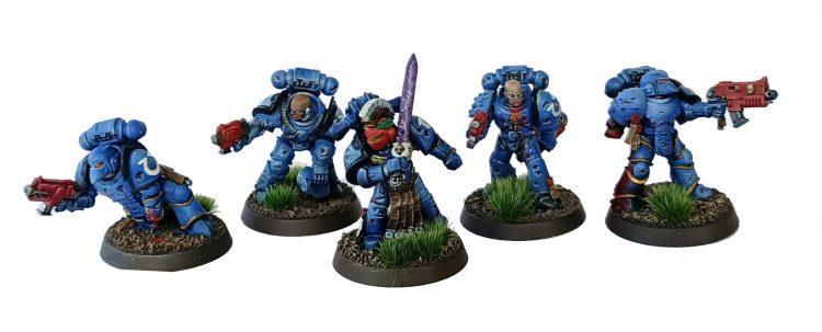 Killteam of Tactical Marines