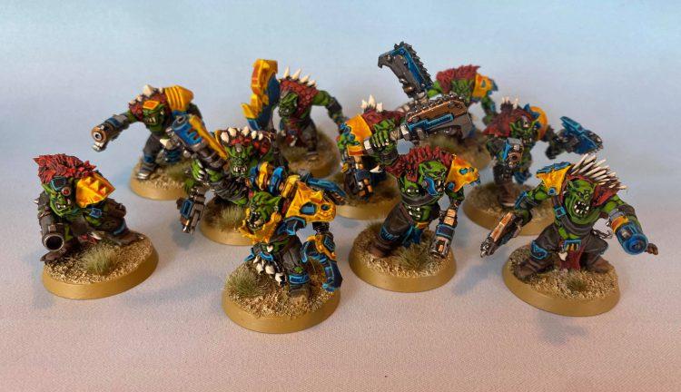 Ork Beast Snagga Boys. Credit: Magos Sockbert