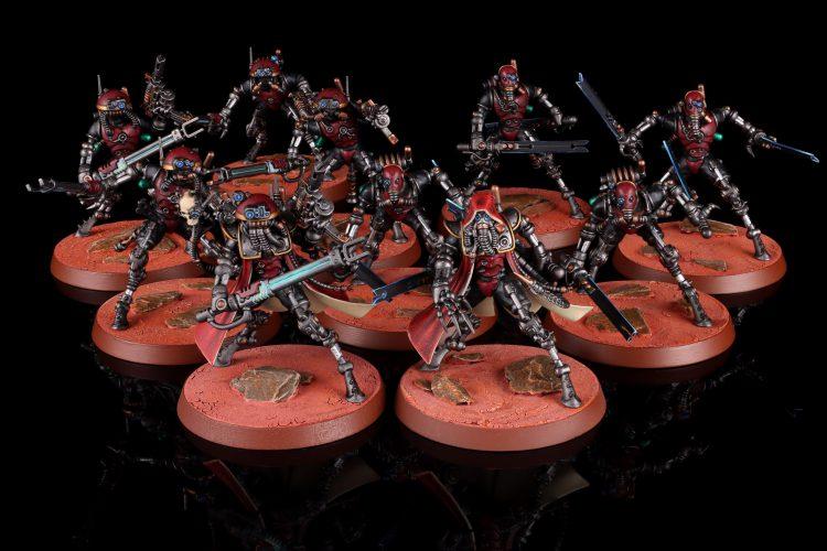 Sicarian Infiltrators and Ruststalkers