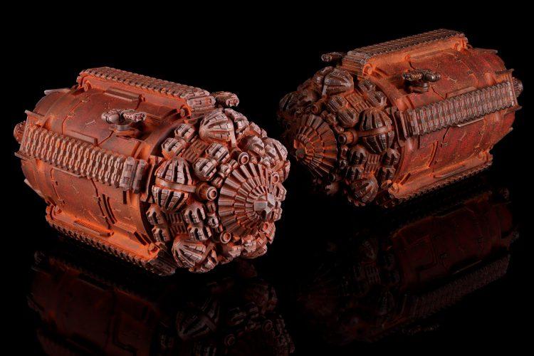 Terrax-Pattern Termites