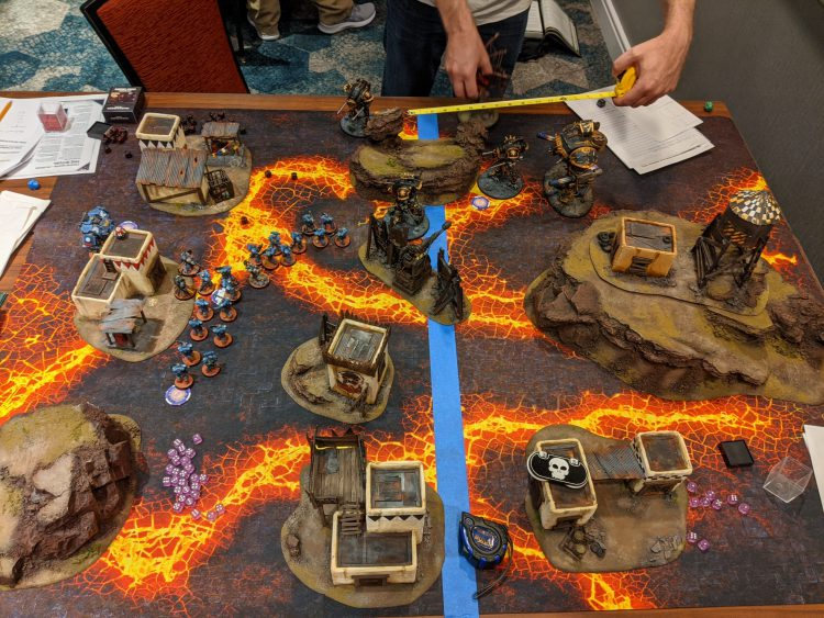 Image of a game played by Craig