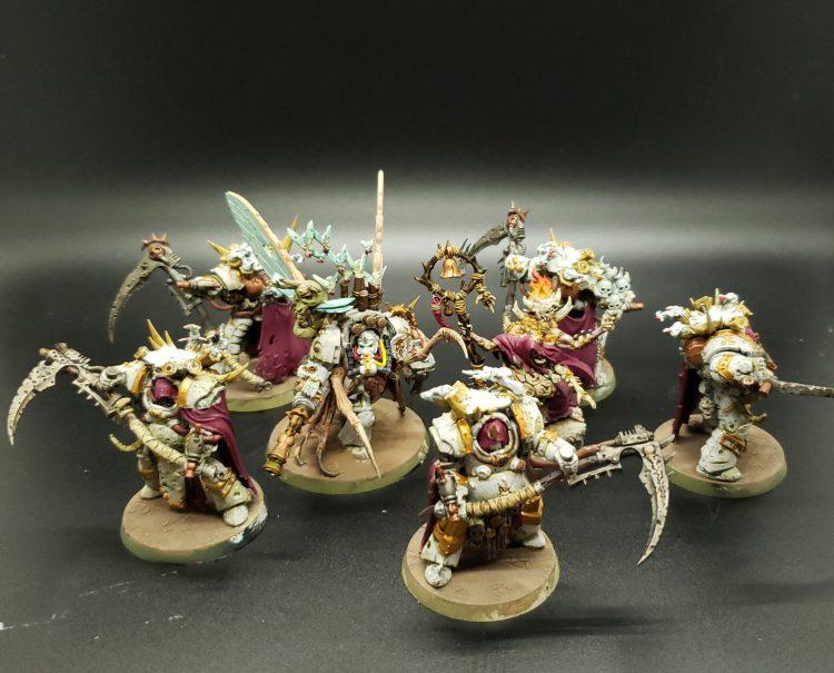 Death Guard command squad by MildNorman